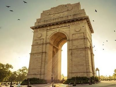 India Gate Delhi view